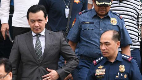 Philippine lawmaker fiercely critical of president arrested