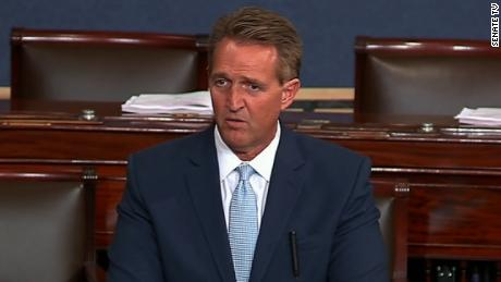 Kavanaugh confirmation: Senator Jeff Flake will