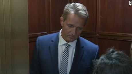 Flake Apologizes to Kavanaugh and Christine Blasey Ford