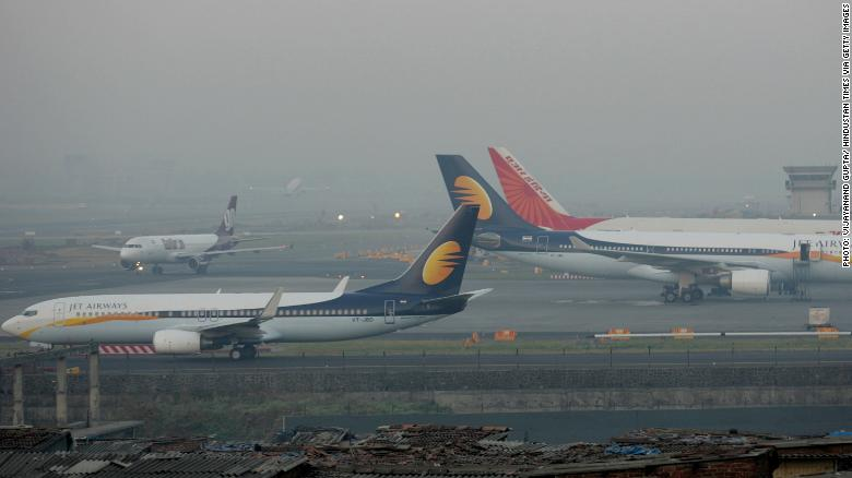 India's Jet Airways suspends all operations