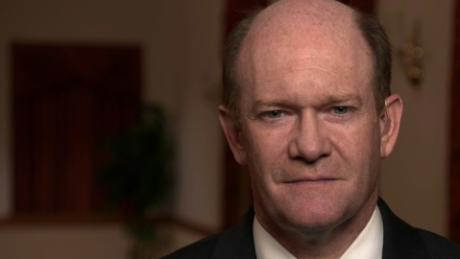 Sen. Chris Coons, a Democrat from Delaware, pictured above, is a member of the Senate Judiciary Committee.