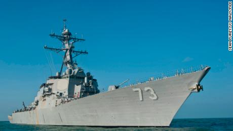 US Navy sails past contested islands in South China Sea