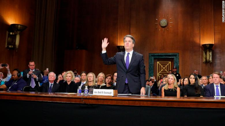 Jeff Flake critiques Kavanaugh's 'sharp and partisan' rhetoric at Senate hearing
