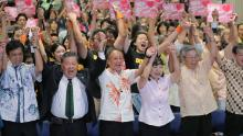 Son of US Marine elected Okinawa governor on anti-military ticket