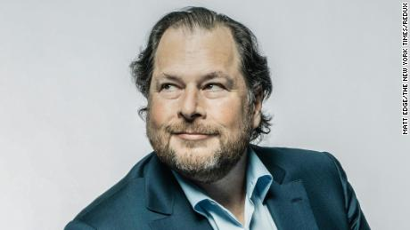 Forget Bezos. Marc Benioff is having a moment
