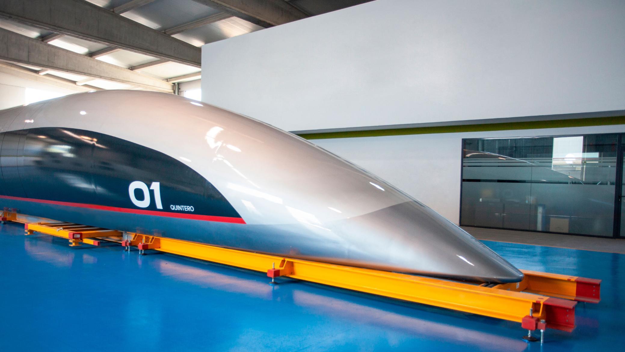 Hyperloop capsule is full-sized and superfast | CNN Travel