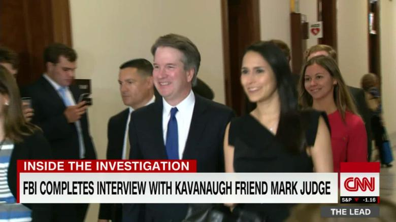 Lead Jessica Schneider on FBI Kavanaugh investigation live Jake Tapper_00032403