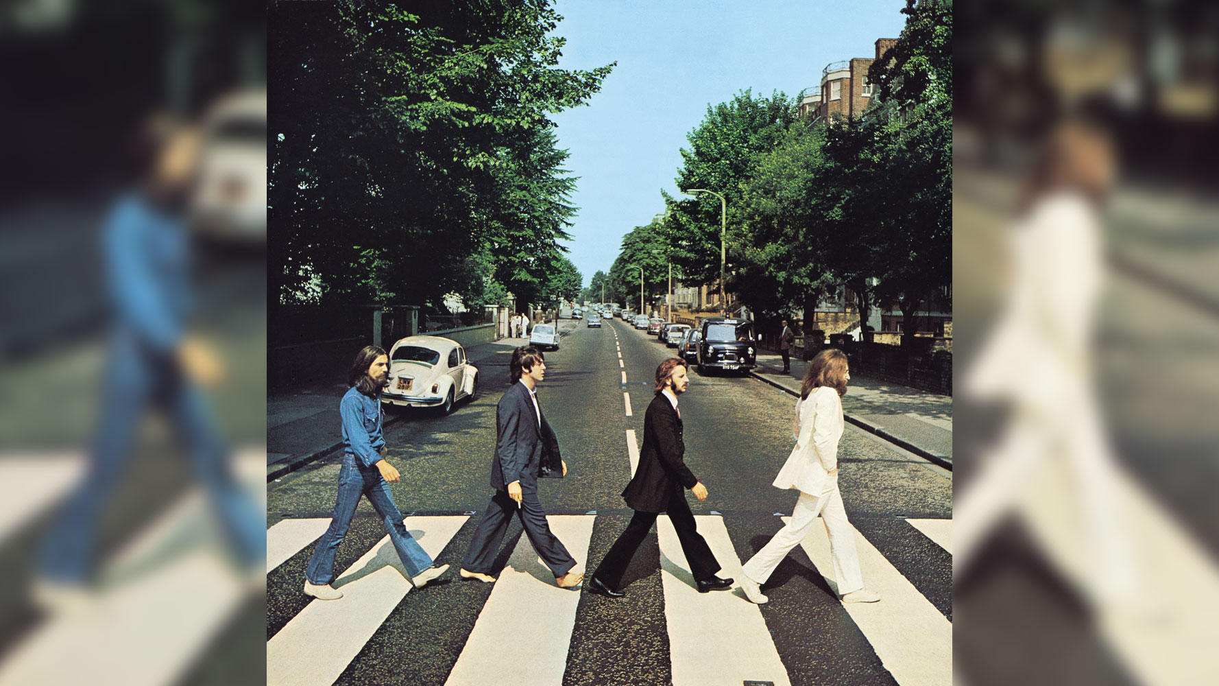 Fans Flock To Abbey Road On The 50th Anniversary Of The