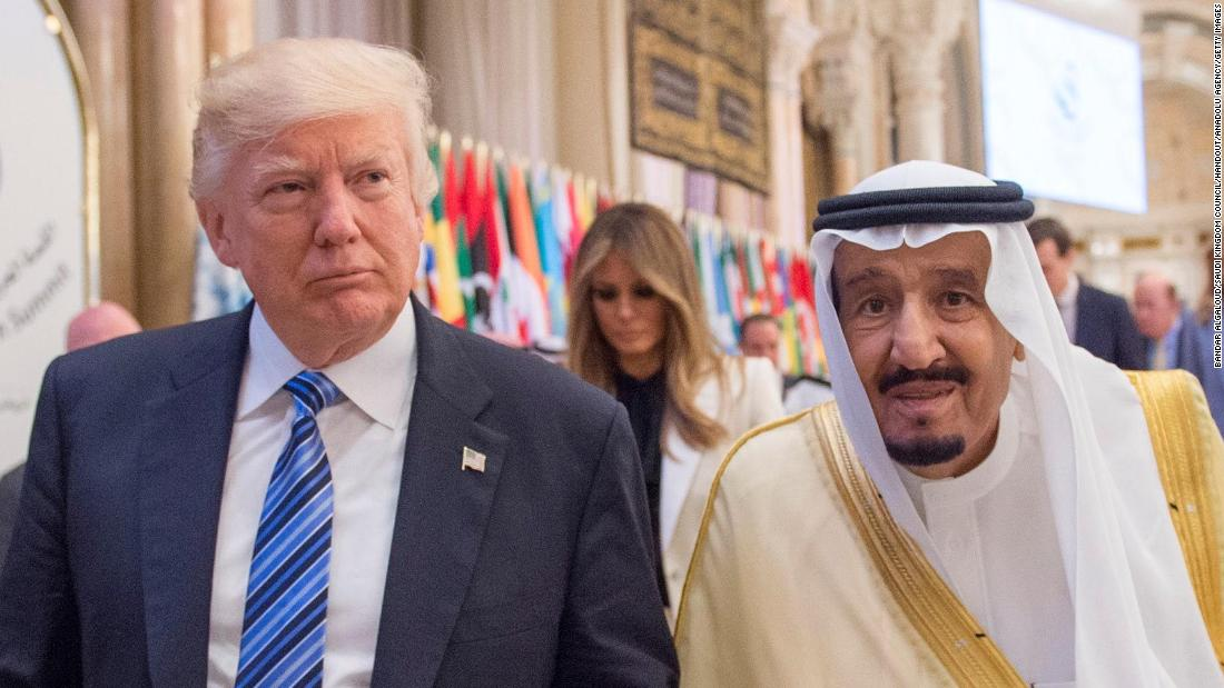 Trump says Saudi King wouldn't last 'two weeks' without US support