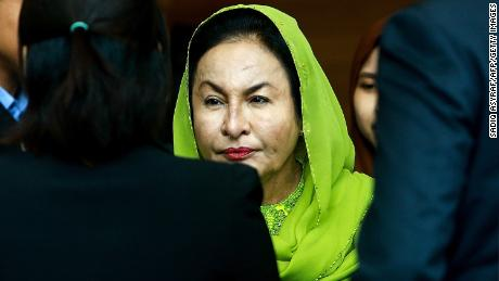 Najib's wife Rosmah charged with money laundering