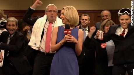 SNL Shows the GOP Doing a Victory Dance After Kavanaugh's Divisive Confirmation