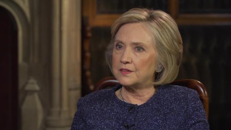 Hillary Clinton Shreds Donald Trump's Latest Wild Collusion Conspiracy Claim