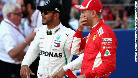 Rosberg says Vettel will never beat Hamilton if he keeps making mistakes.