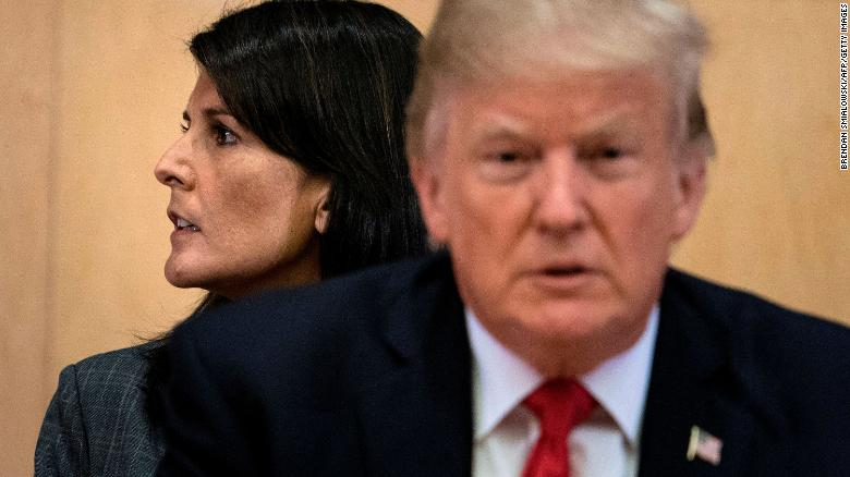 Nikki Haley learns there's no halfway with Trump