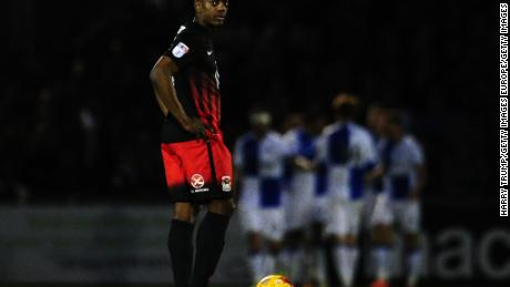 Marvin Sordell, who plays for Burton Albion, has also talked openly about his struggle with depression.
