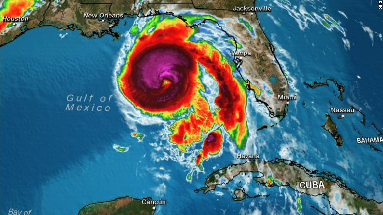 Hurricane Michael makes landfall as strongest storm in United States  in 50 years