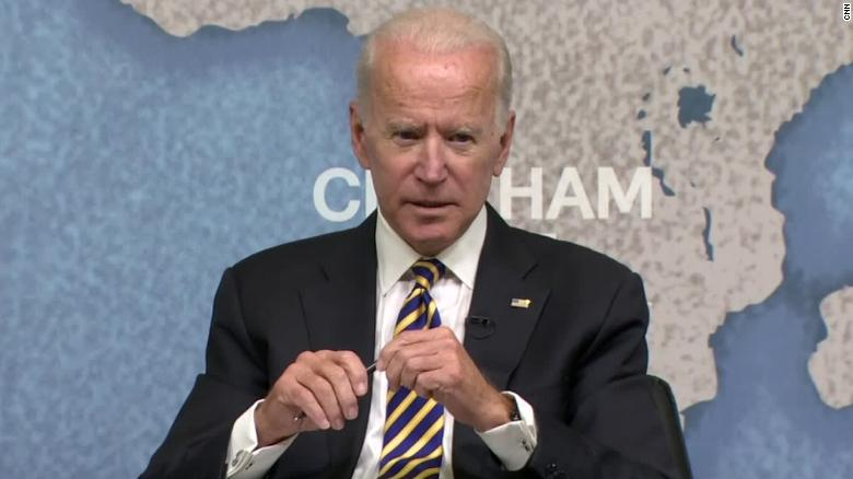 Biden: 'I hope' Democrats don't impeach Trump