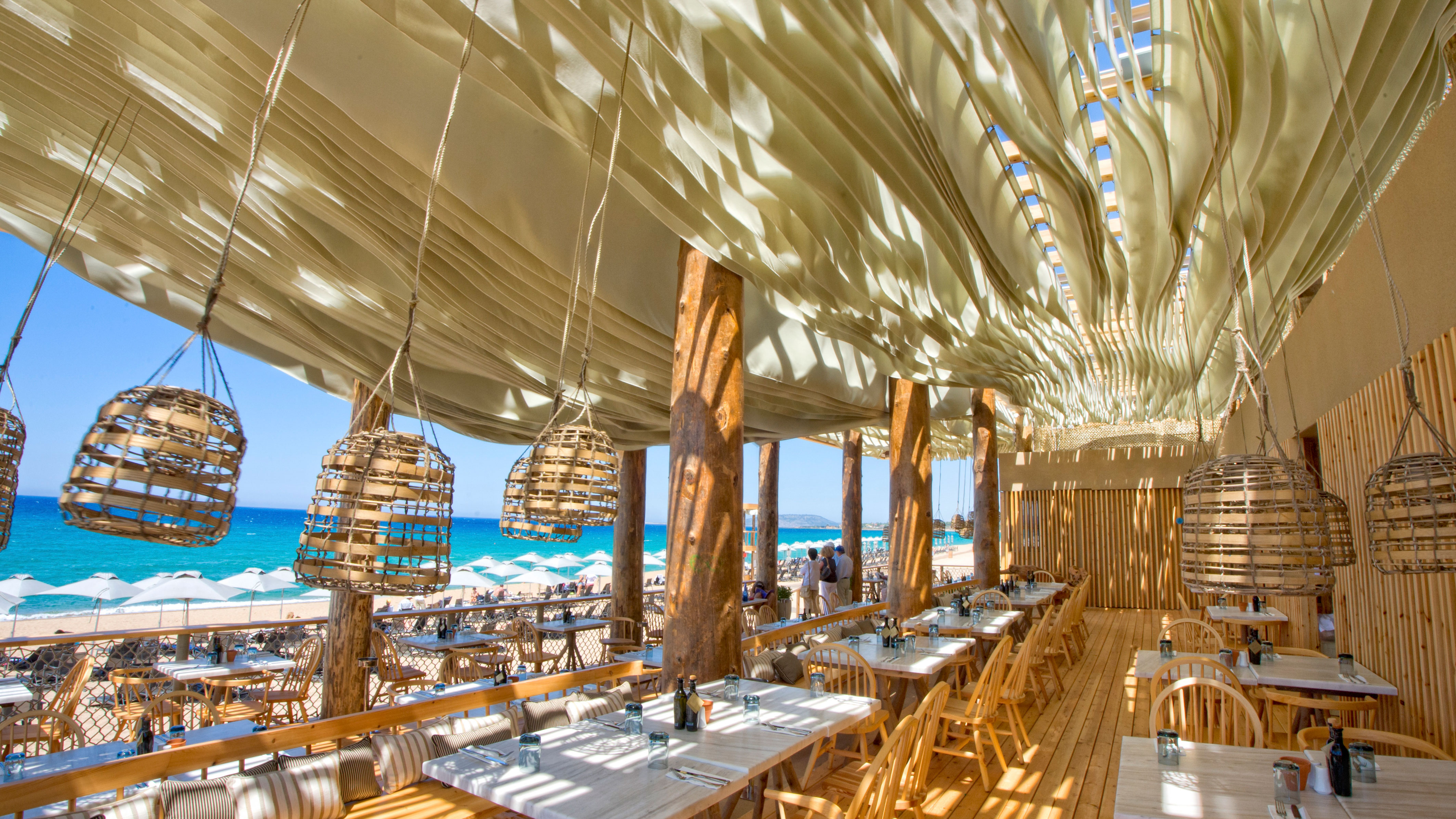 Costa Navarino Resort In Greece Has An Incredible Moving Roof Cnn Travel