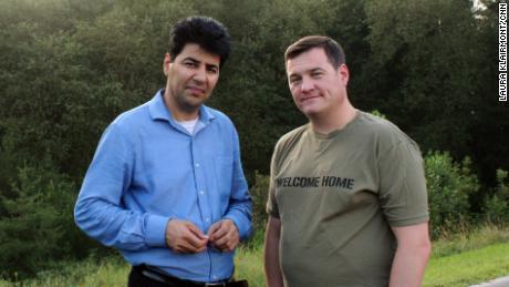 Janis Shinwari and Matt Zeller