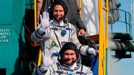 Astronaut records aggravating failed space launch