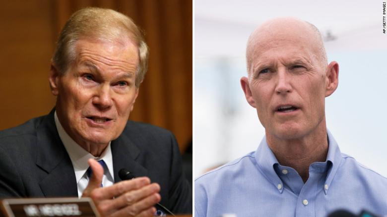 Recount likely in Florida Senate, governor races