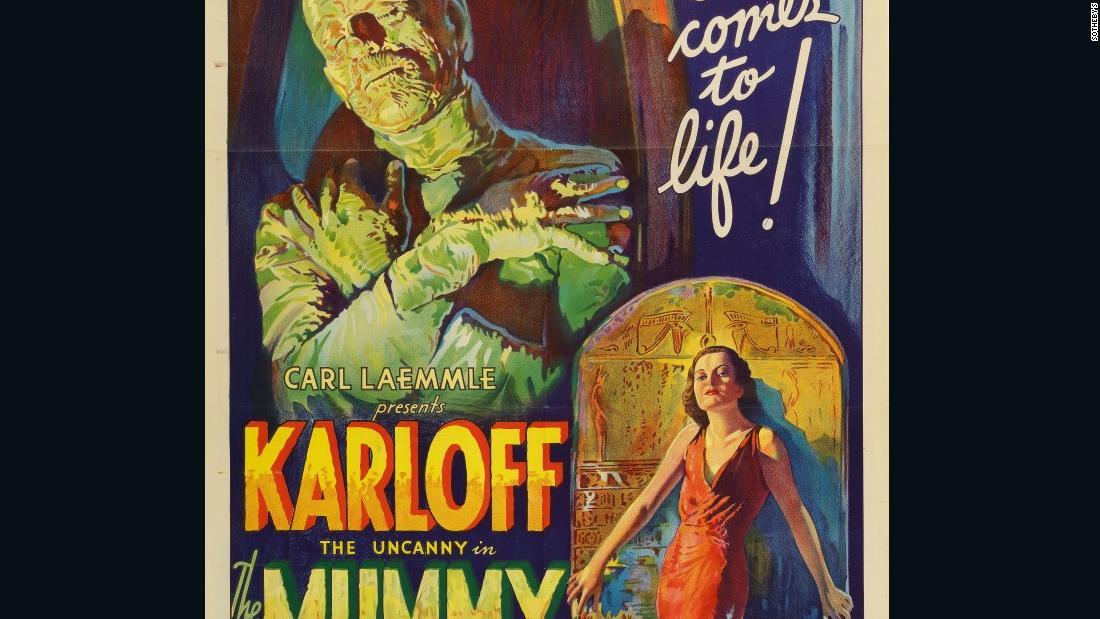 24x36 The Mummy Vintage Movie Poster