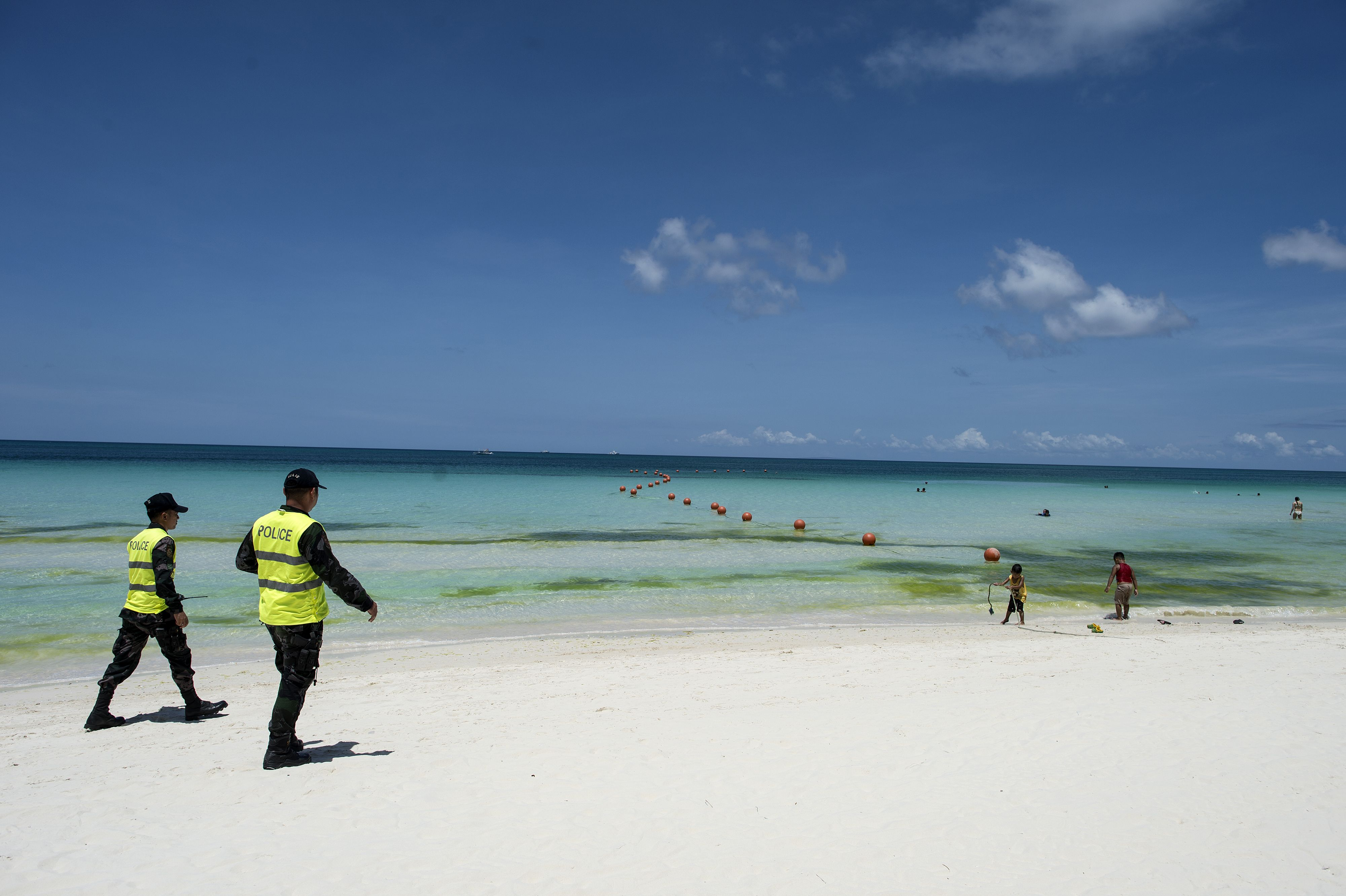 Boracay reopens for test run following huge cleanup in the