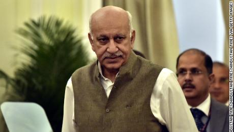 Indian union minister MJ Akbar steps down over #MeToo allegations