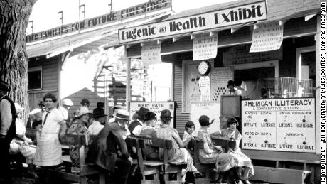 """Years before Nazi Germany tried to built a master race, millions of Americans tried to built a better, and whiter, race. A new PBS film looks at """"The Eugenics Crusade."""""""