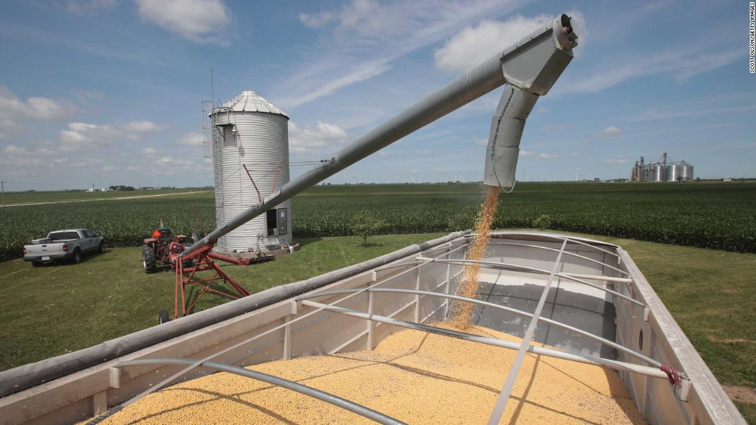 Soybean farmers are still paying for Trump's trade war - CNNPolitics