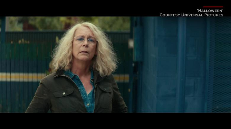 Jamie Lee Curtis Celebrates 'Halloween' Box Office Success