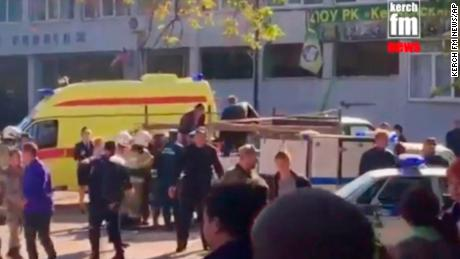 Deadly blast at Crimea school possible terror attack, Kremlin says