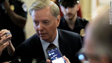 Lindsey Graham's joke draws backlash
