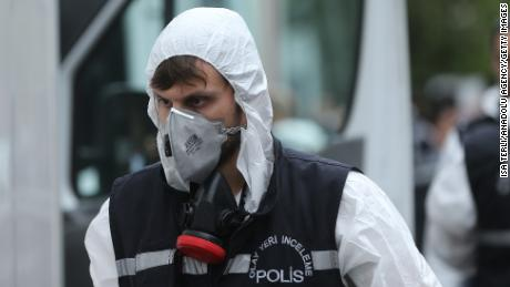 Turkey conducted search of Saudi consulate