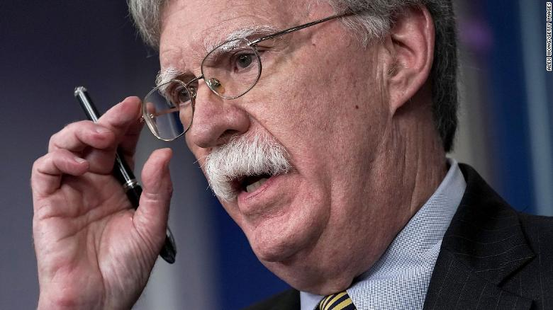 US National Security Advisor Bolton reacts to Putin meeting