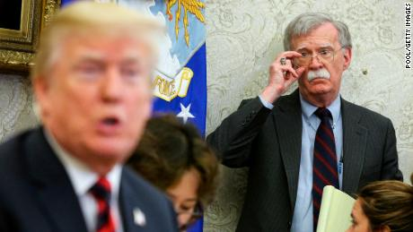 Trump says Kim has 'kept his word' hours after Bolton said he hasn't