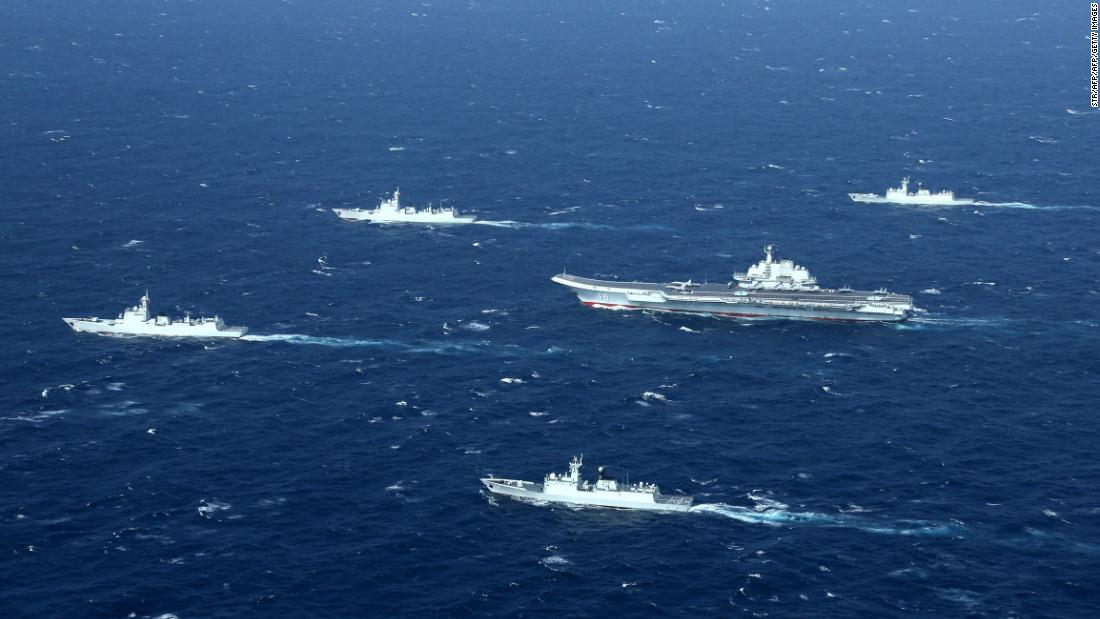 China holds drills in Taiwan Strait, calls for sanctions against US companies - CNN