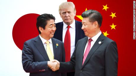 Donald Trump's unconventional diplomacy is pushing China and Japan closer together