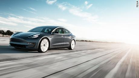 Tesla slashes price of Model 3 'performance package'