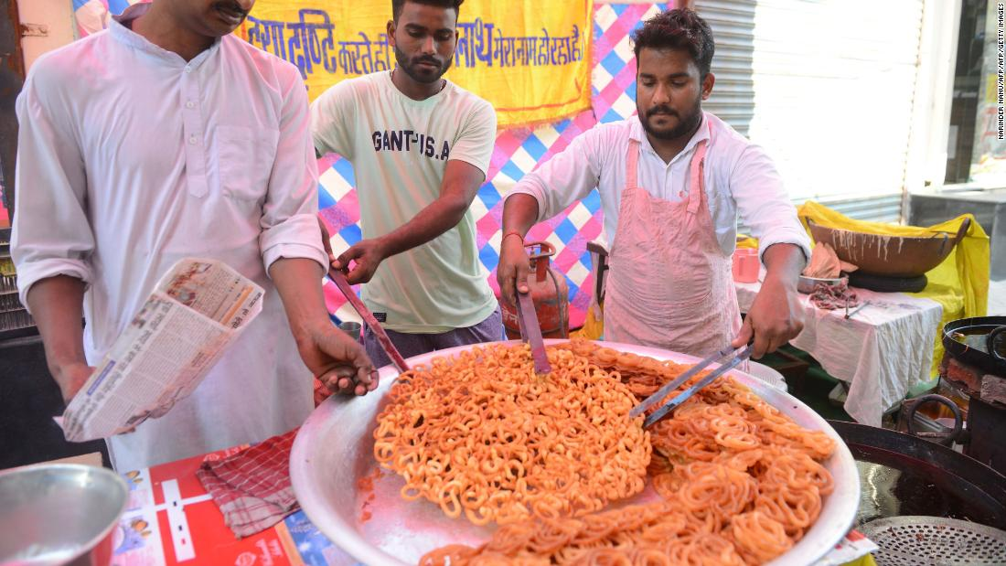 Eat your way through India