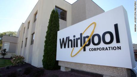 Recall of Whirlpool tumble dryers made before September 2015