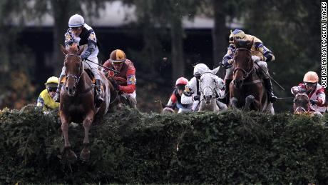 When the race first began in the late 1800s, participation was low -- with most jockeys being English, German and Italian.