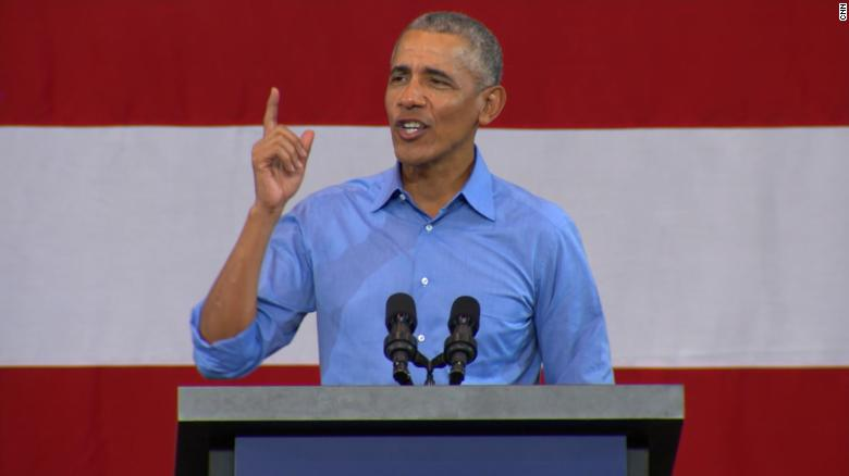 Obama Campaigns for Vulnerable Senate Democrats Ahead of Midterms