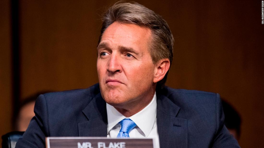 Mueller protection bill: Jeff Flake threatens to vote against judges after GOP blocks bill - CNNPolitics