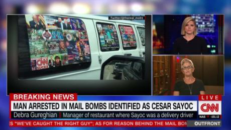 Pipe bombs suspect Cesar Sayoc held without bail in NY