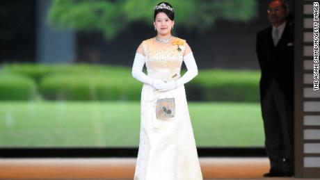What will Princess Ayako wear at her wedding?