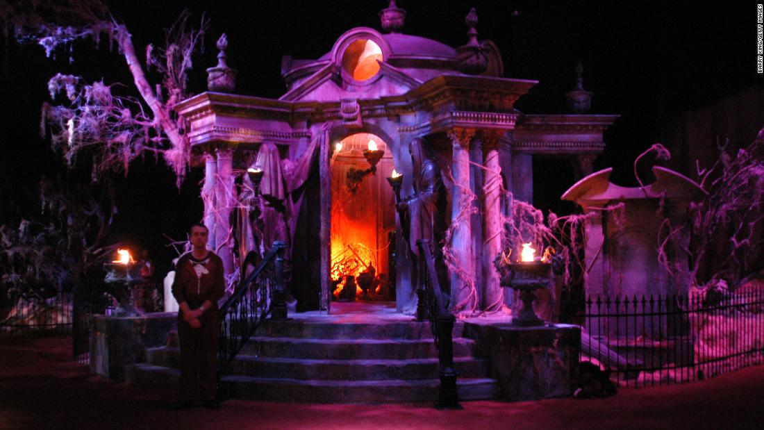 The Art And Psychology Of Haunted House Design Cnn Style