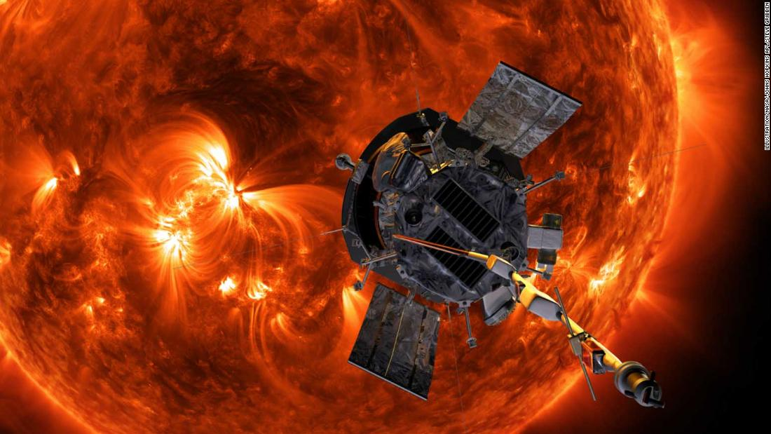 Parker Solar Probe sends back images from its orbits of the sun - CNN