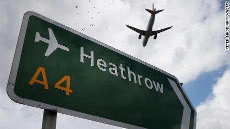 Planes at London's Heathrow Airport grounded due to runway lighting failure