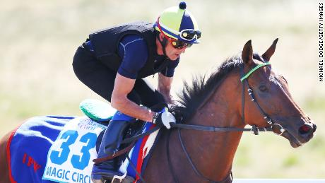Britain's Cross Counter grabs first Melbourne Cup for Godolphin